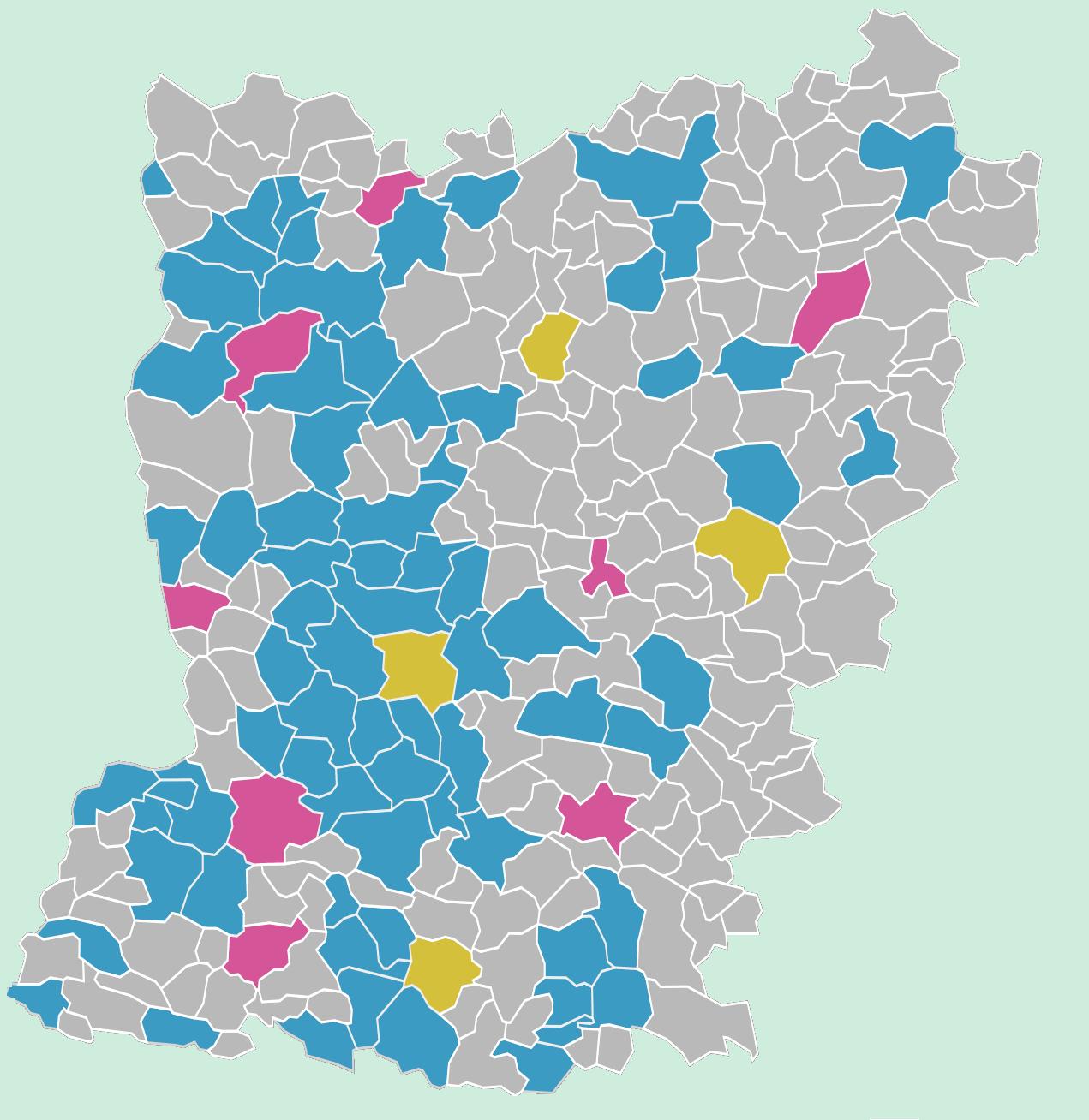 carte des établissements