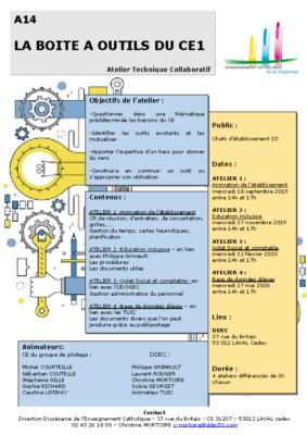 A14-Boîte à outils CE