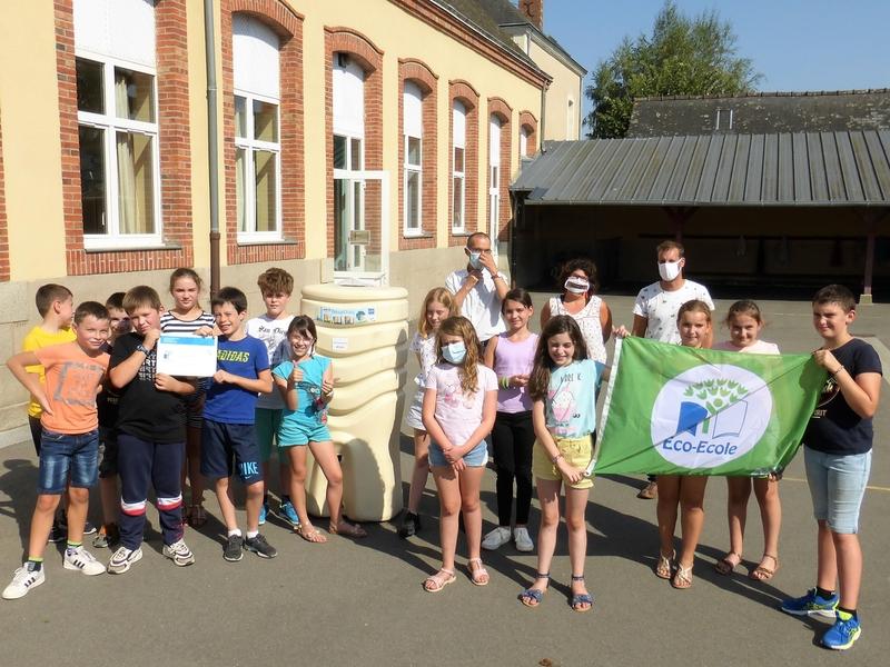 """Projet """"Éco-École"""" à l'école Saint Joseph de Craon"""